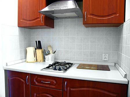 Готовая квартира маленькая кухня для